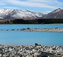 lake tekapo, south canterbury, nz by rina  thompson