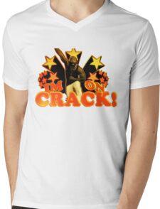 I'm on Crack Mens V-Neck T-Shirt