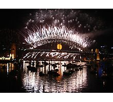Happy New Year Sydney!! Photographic Print