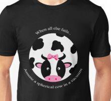 Spherical Cow Unisex T-Shirt