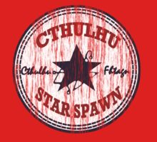 Cthulhu Star Spawn (distressed) Kids Tee