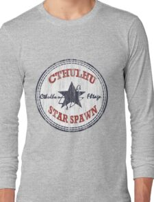 Cthulhu Star Spawn (distressed) Long Sleeve T-Shirt