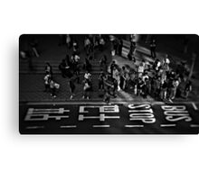 Hong Kong Waiting Canvas Print