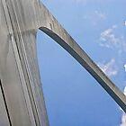 Up the Gateway Arch by Kenneth Keifer