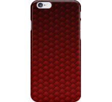 Dragon Scale (Red) iPhone Case/Skin