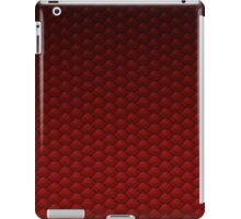 Dragon Scale (Red) iPad Case/Skin