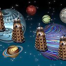March Of The Daleks by Steve Purnell