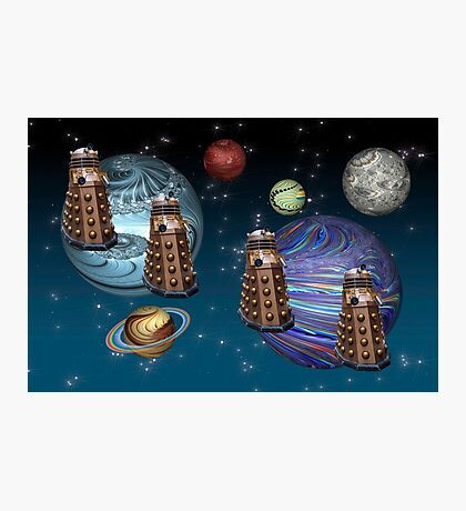 March Of The Daleks Photographic Print