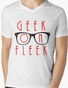 Geek on Fleek Mens V-Neck T-Shirt