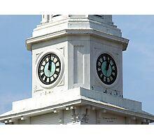 Bethany Church Clock Tower Foxboro, MA Photographic Print