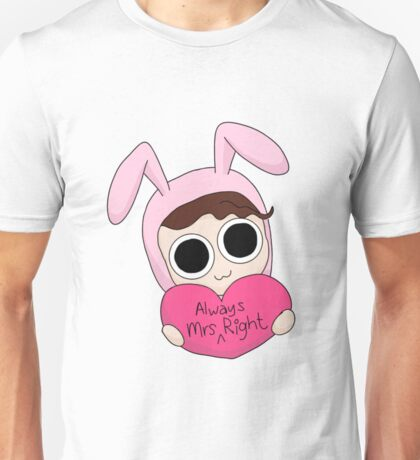 Mrs Always Right Unisex T-Shirt