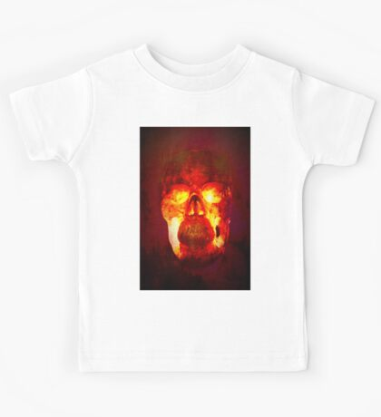 Hot Headed Skull Kids Tee
