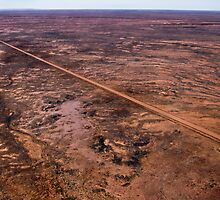 A Road Across the Desert, Outback South Australia 573 by haymelter