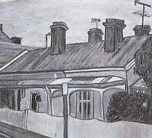 Terrace Houses by Joan Wild