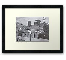 Terrace Houses Framed Print