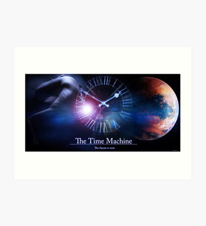 Time Machine Art Print