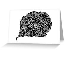 Brain Scramble Greeting Card