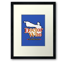 Ace Time Lord - 10th Version Framed Print