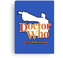 Ace Time Lord - 10th Version Canvas Print