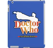 Ace Time Lord - 10th Version iPad Case/Skin