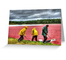 HDR Workers Greeting Card