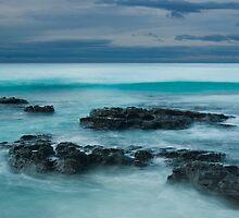 rock on blue by Kip Nunn