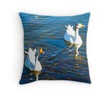 Fauna - Town Lake, Austin, TX Throw Pillow