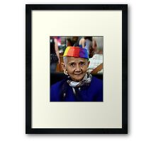 For a Golden Pictureframe .... Framed Print