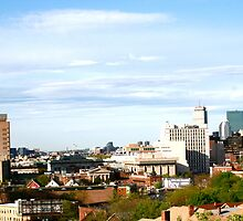 Hanging Out Rooftop - Mission Hill - Boston, MA by MalinRawl