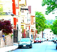 Hillside Street in Mission Hill - Boston, MA by MalinRawl