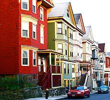 Hillside Street - Boston, MA by MalinRawl