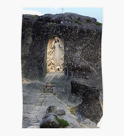 Senhora da Boa Estrela, Parque Natural Da Serra Da Estrela, Manteigas, Portugal Poster