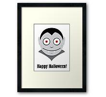 Halloween Vampire Kids Shirt Framed Print