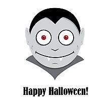 Halloween Vampire Kids Shirt Photographic Print
