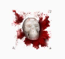Crystal Skull With Red On Transparent Background Unisex T-Shirt