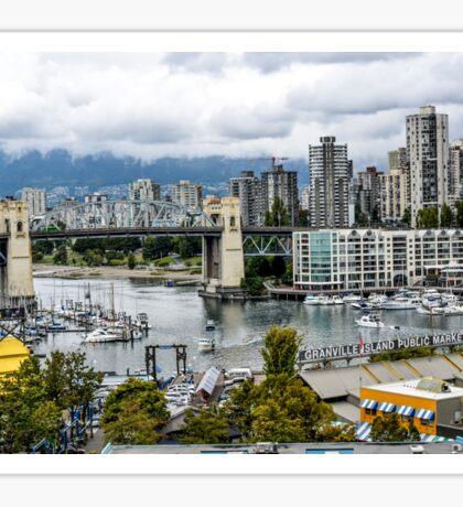 Granville Island, Vancouver, Canada Sticker