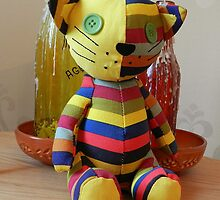 Stripey Cat! by weecritter