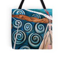 Blowing a Gale Tote Bag