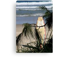 A Long Day Surfing Canvas Print