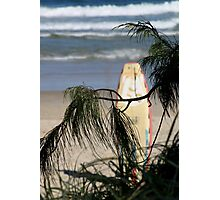 A Long Day Surfing Photographic Print