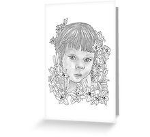Darling Lili Greeting Card