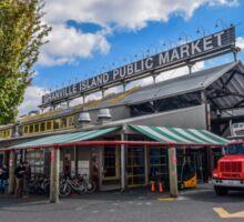 Granville Island Market, Vancouver, Canada Sticker