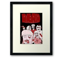 Dead Ends: Zombies Framed Print