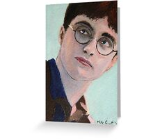 Miniature 'Harry Potter' ACEO card Greeting Card