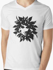 Leaf Man Mens V-Neck T-Shirt