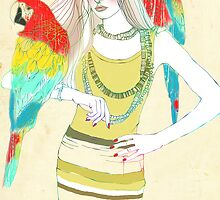 Parrot Girl by Elisandra
