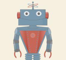 Vintage Robots Sticker