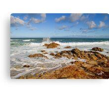Rolling Tide - Pacific Grove, CA Canvas Print