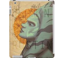 Courage begins by trusting oneself iPad Case/Skin