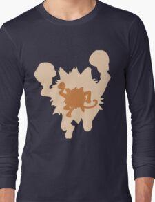 PKMN Silhouette - Mankey Family Long Sleeve T-Shirt